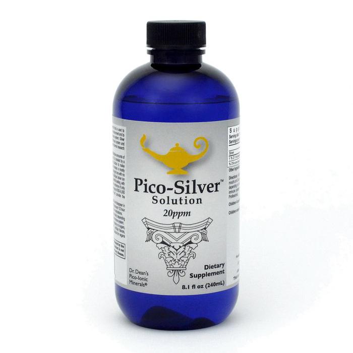 Pico Silver ™ Solution - Dr. Dean's Pico Mineral Silver Solution