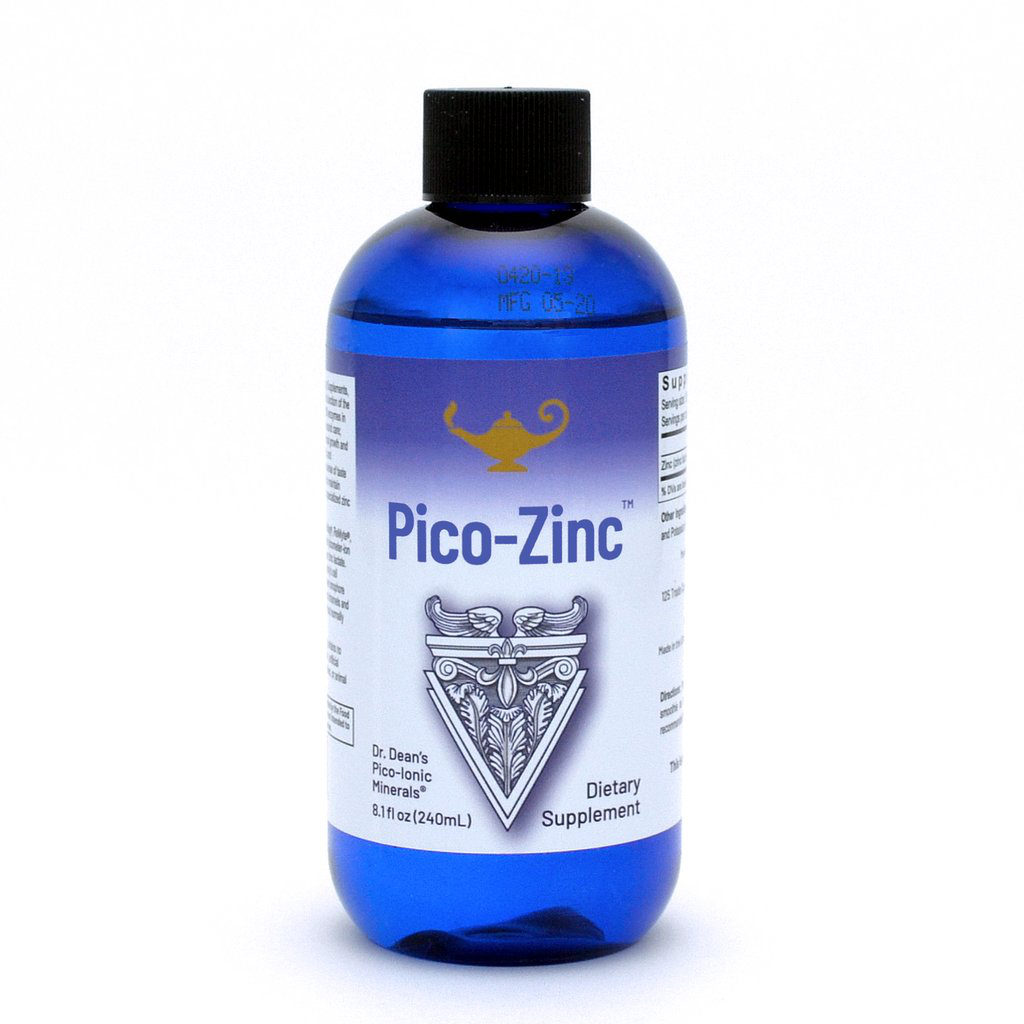 Pico Zinc - Zink-Lösung | Dr. Dean´s piko-ionisches flüssiges Zink